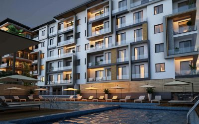 Modern 2 & 3 Bed Penthouses in City Center Complex – CENTRAL KYRENIA