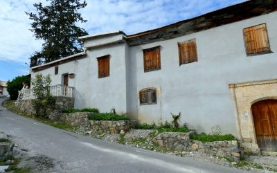 Spacious 2 Story Ottoman House with Courtyard and Large Garden – LEFKE