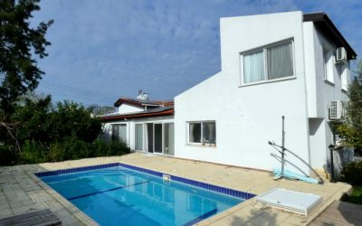 3/4 Bed Villa with Pool & Spacious Garden Title Deed In Owners Name – OZANKOY