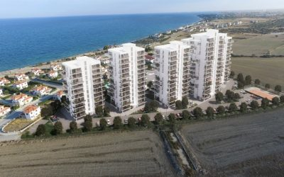 High Rise Studio Apartment, Placed ON The Top Floor Of A 12 Story Building With Sea Views On Brand New Complex – BOGAZ